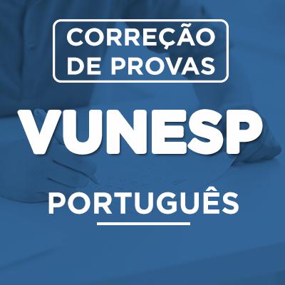 Correção de Provas  VUNESP PORTUGUÊS