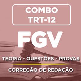 COMBO FGV  PORTUGUÊS + REDAÇÃO