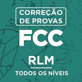 Correção de Provas FCC – RLM