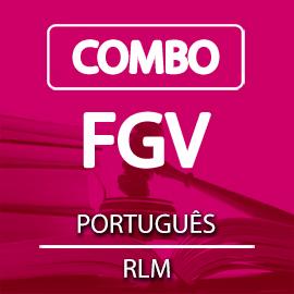 COMBO FGV PORTUGUÊS + RLM