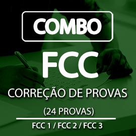 COMBO FCC I, II e III  PORTUGUÊS
