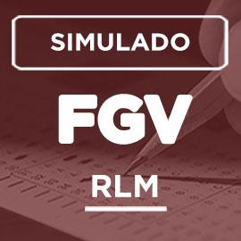SIMULADO – RLM – FGV