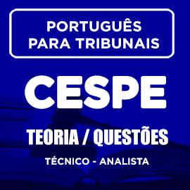 Português para Tribunais – CESPE