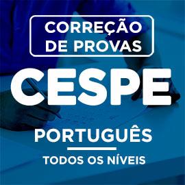 Correção de Provas  CESPE – PORTUGUÊS