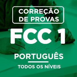 Correção de Provas  FCC I – PORTUGUÊS