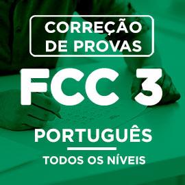 Correção de Provas  FCC III – PORTUGUÊS
