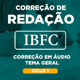 Correção de Redação IBFC Tema Geral