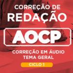 Correção de Redação AOCP